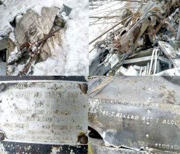 Indian Army patrol discovers wreckage of  world war II  US aircraft in Roing